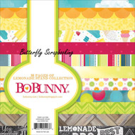 Summer Lemonade Stand Collection Scrapbooking 6x6 Paper Pad 36 Pages BoBunny NEW