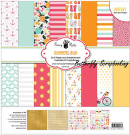 SUMMER SUN Collection Kit 12X12 Scrapbooking Kit Fancy Pants Designs 2553 New