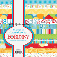 Surprise Collection Scrapbooking 6x6 Paper Pad Bo Bunny 36 Pages BoBunny NEW