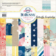 Sweet Life Collection Pack 12x12 Scrapbooking Kit Bo Bunny BoBunny New
