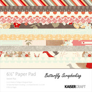 Sweet Pea Collection 6.5 inch Paper Pad Scrapbooking Kit Kaisercraft NEW