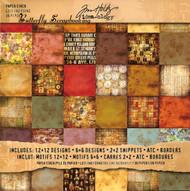 TIM HOLTZ IDEA-OLOGY 12X12 Scrapbooking Paper Pad Paper Stash Lost & Found NEW