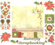 TRADITIONAL CHRISTMAS 12X12 Scrapbooking Kit LIMITED