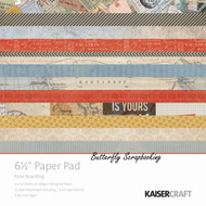 Travel Boarding Collection 6.5 inch Paper Pad Scrapbooking Kit Kaisercraft NEW