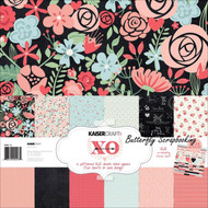 Valentine Love XO Collection 12X12 Scrapbooking Kit Kaisercraft Paper Crafting