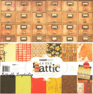 Vintage In The Attic Collection 12X12 Scrapbooking Kit Kaisercraft Paper NEW