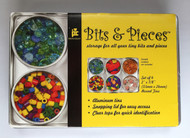 Bits & Pieces, Aluminum Storage Containers -NEW, 20-9107