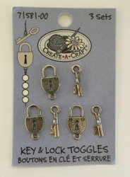 Key & Lock Toggles - NEW, 71581-00