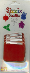 Sizzix Sizzlits, Dies Holiday Set - NEW, 38-9611