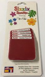 Sizzix Sizzlits, Dies Hawaiian Flower Set - NEW, 38-9743