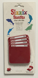 Sizzix Sizzlits, Dies Sea Life Set - NEW, 38-9699