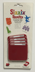 Sizzix Sizzlits, Dies Coastal Set - NEW, 38-9692