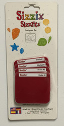 Sizzix Sizzlits, Dies Shell Set - NEW, 38-9700
