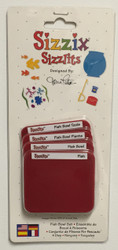 Sizzix Sizzlits, Dies Fish Bowl Set - NEW, 38-9742