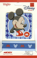 Disney Mickey Collection Ribbon and Patch - NEW, 1886076001M