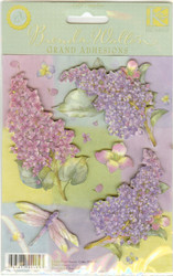 Juliana Floral Images, Dimensional Stickers, K&COMPANY - NEW, 554047