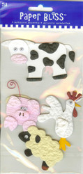 Adhesive Accents, Farm Animals - NEW, 39516-PE-101