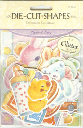 Die-cut Shapes, Quilted Baby - NEW, 410553