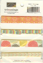 Love 4 Piece, Trimmings, KAREN FOSTER DESIGN - NEW, 02211