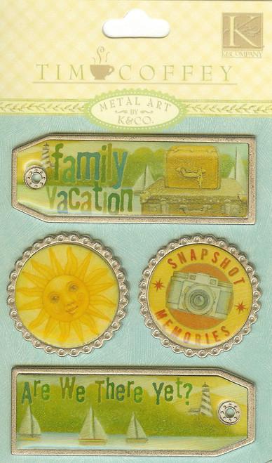 TC Travel/Vacation Metal Tags