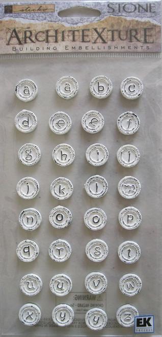 Nouveau Stone Alphabet