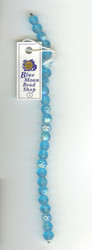 Blue Czech Glass Beads