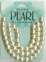 8mm Round Pearl Ecru