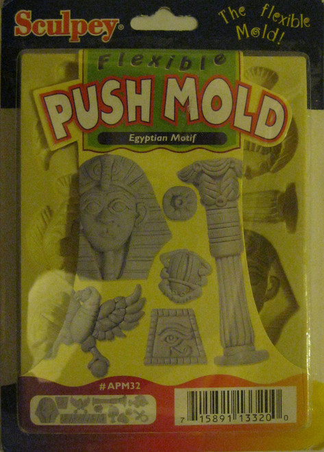 Egyptian Motif Push Mold