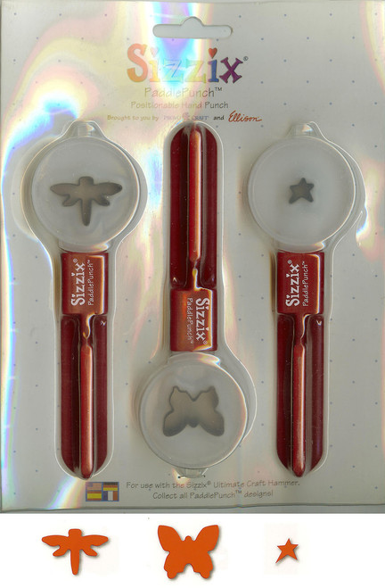 Dragonfly Butterfly Star PaddlePunch Set