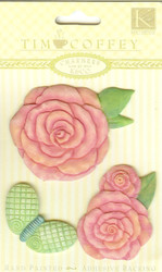 Roses Charmers, Embellishments K & COMPANY - NEW, 559653