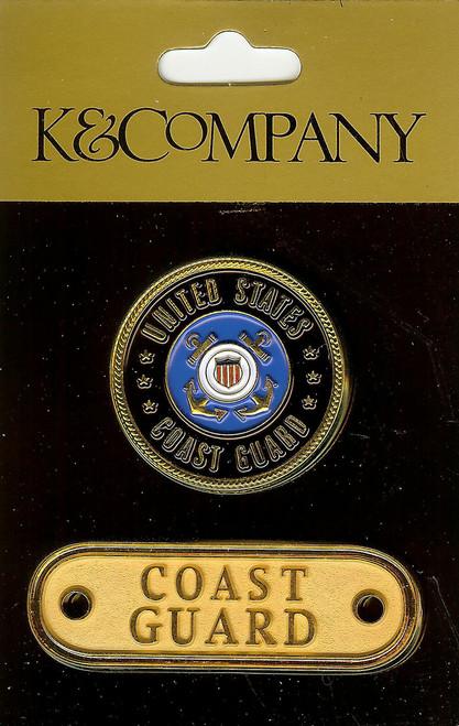 Coast Guard Medallion Charms