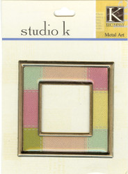 Studio K Square Frame Stitched Squares