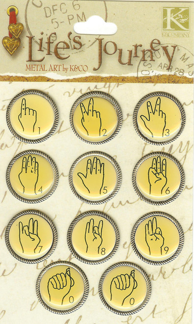 Life' s Journey Sign Language Numbers