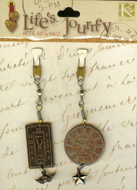 Life's Journey Clocks Lures and Charms 1