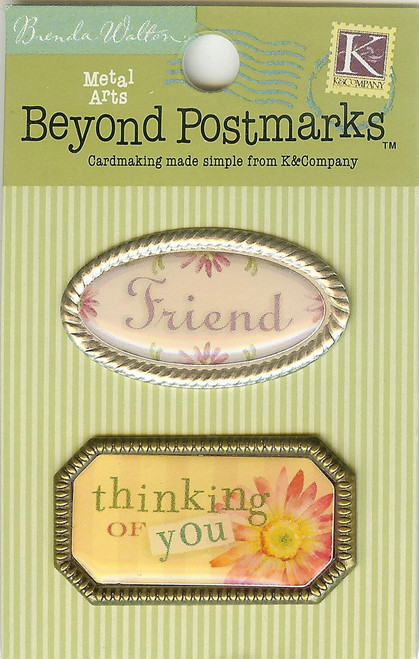 Beyond Postmarks Friendship Word Charms