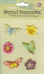 Beyond Postmarks Floral Charmers