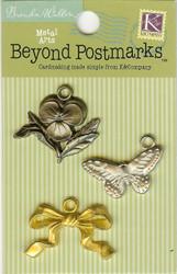 Beyond Postmarks Metal Garden Charms