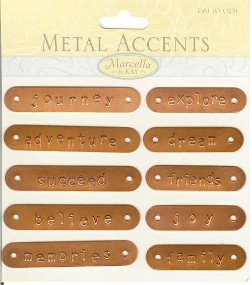 Copper Metal Toggle Clasps