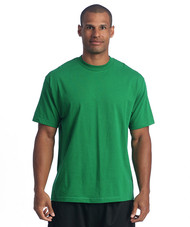 The original heavyweight t-shirt is famous for its thick feel, shrink resistance, and tight collar. This is made by extra thick 100% cotton jersey construction (Heather Grey contains 10% Polyester). It is perfect for anyone looking for a high quality, loose fitting and heavy duty tee.
