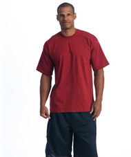 The original heavyweight t-shirt is famous for its thick feel, shrink resistance, and tight collar.