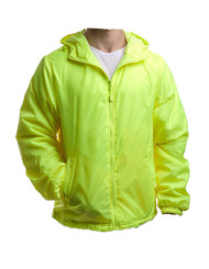 Safety Green color