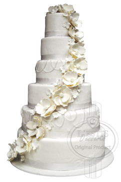 Cakes For All Occasions - Wedding Cakes - 6 Tier Cake - Lestis ...