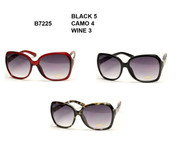 B7225 Fashion Wholesale Sunglasses ( Unit: Dozen )