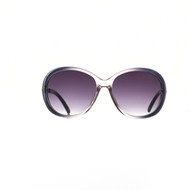 Wholesale Sunglasses B7251 Wholesale Fashion Sunglasses with Jaguar Temple Pre-Assorted Wholesale Dozen Smoke
