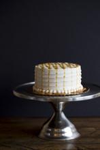 Vanilla Bean Caramel Baked Cake or Cupcakes