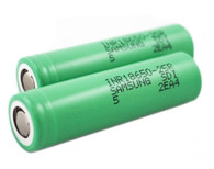 Samsung 25R 18650 2500mAh 20A Flat Top Battery (single)