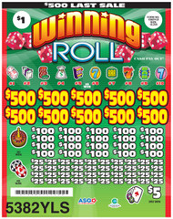 WINNING ROLL 5382