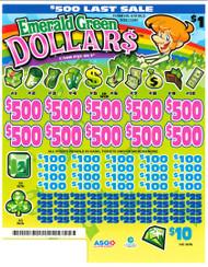Emerald Green Dollars 791