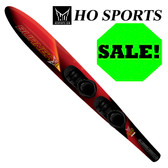 "HO Sports Burner 69"" Slalom Ski (2016) with Freemax Front Boot & Adjustable Rear Toe"
