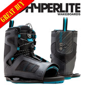 Hyperlite Team Open Toe Wakeboard Boots (2016)